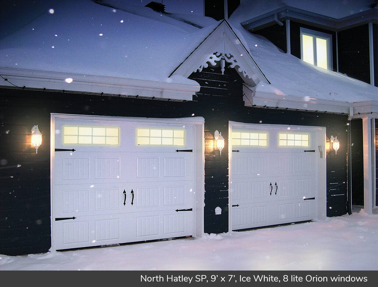 North Hatley SP, 9' x 7', Ice White, 8 lite Orion windows